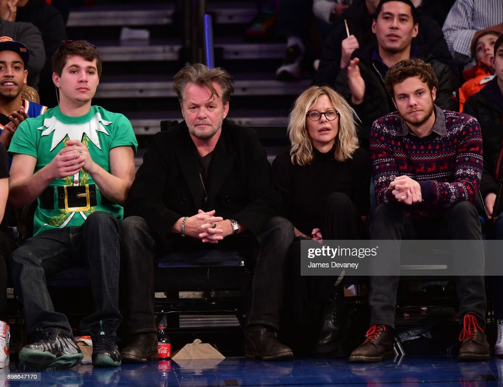 Celebrities Attend The New York Knicks Vs Philadelphia 76ers Game
