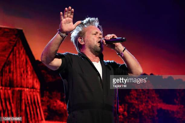 John Mellencamp performs during Farm Aid 2018 at Xfinity Theatre on September 22 2018 in Hartford Connecticut