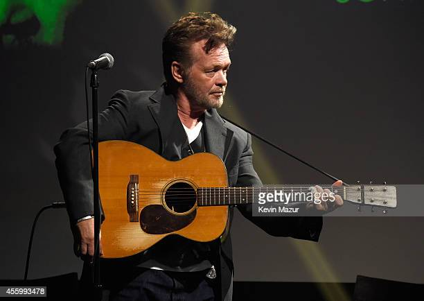 John Mellencamp performs during the ICONS event at iHeartRadio Theater on September 23 2014 in New York City