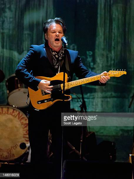 John Mellencamp performs on July 13 2012 in SARNIA ON