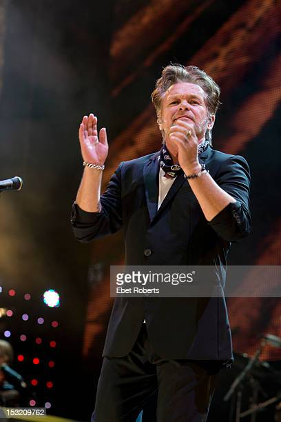 John Mellencamp performs on stage during the Farm Aid Concert at Hersheypark Stadium on September 22, 2012 in Hershey, Pennsylvania.