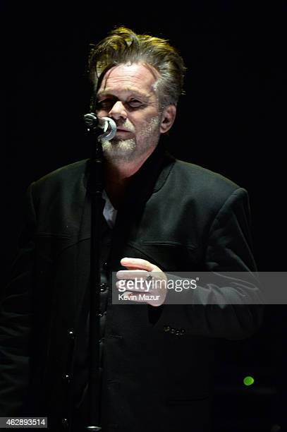 John Mellencamp performs onstage at the 25th anniversary MusiCares 2015 Person Of The Year Gala honoring Bob Dylan at the Los Angeles Convention...