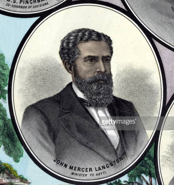 John Mercer Langston was an American abolitionist attorney educator activist and politician He was the first dean of the law school at Howard...