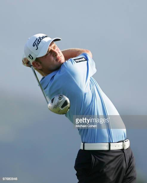 John Merrick hits a drive during the second round of the Puerto Rico Open presented by Banco Popular at Trump International Golf Club held on March...