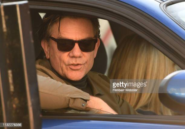 John Michie and Carol Fletcher arrive at Winchester Crown Court on February 26 2019 in Winchester England Ceon Broughton is on trial for manslaughter...