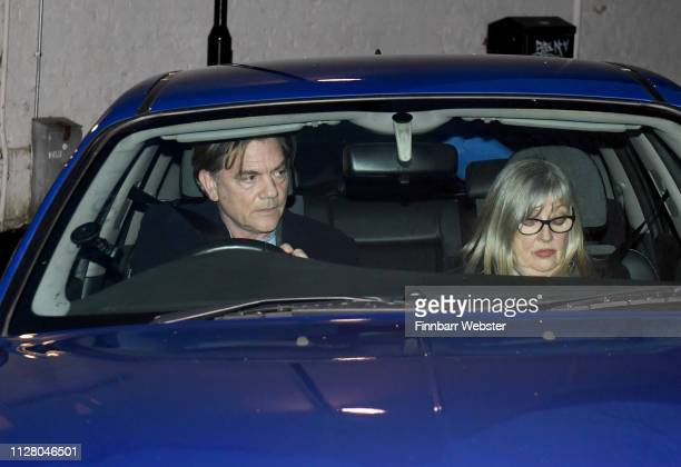 John Michie and Carol Fletcher leave Winchester Crown Court on February 07 2019 in Winchester England Ceon Broughton is on trial for manslaughter...