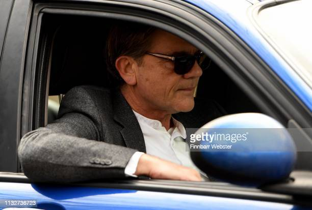 John Michie and Carol FletcherMichie parents of Louella FletcherMichie arrive at Winchester Crown Court on February 28 2019 in Winchester England...