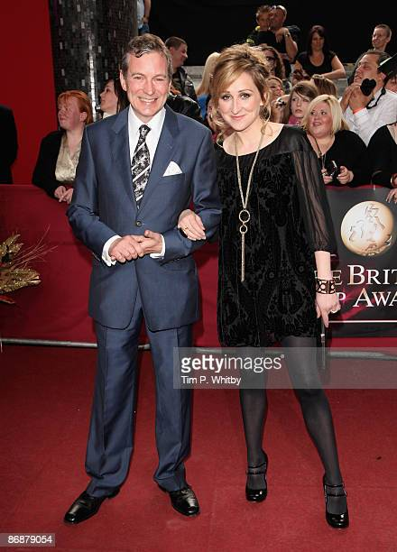 John Middleton and Charlotte Bellamy arrive for the British Soap Awards at BBC Television Centre on May 9 2009 in London England