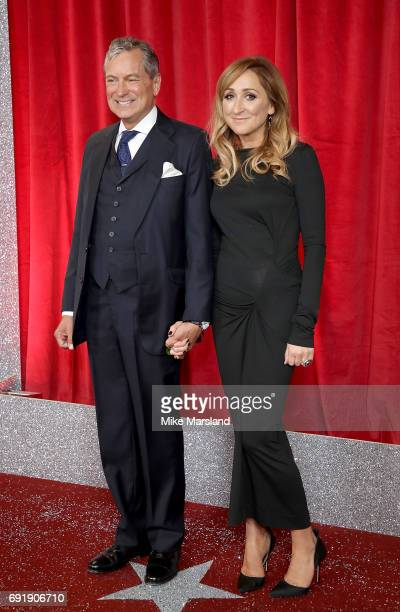 John Middleton and Charlotte Bellamy attend The British Soap Awards at The Lowry Theatre on June 3 2017 in Manchester England The Soap Awards will be...