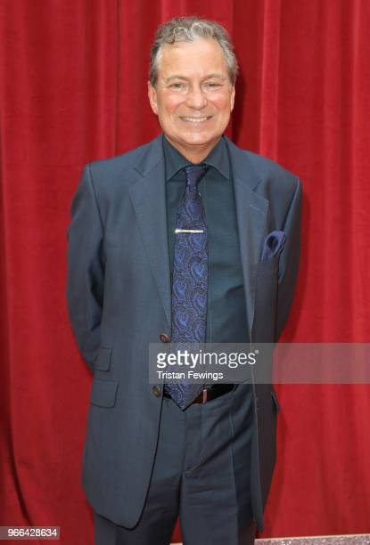 John Middleton attends the British Soap Awards 2018 at Hackney Empire on June 2 2018 in London England