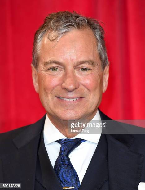 John Middleton attends the British Soap Awards at The Lowry Theatre on June 3 2017 in Manchester England