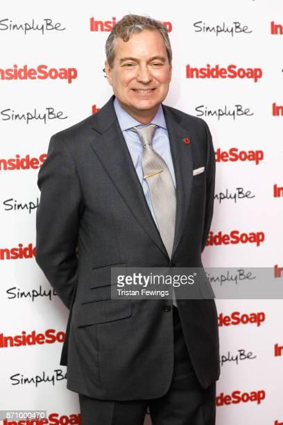 John Middleton attends the Inside Soap Awards held at The Hippodrome on November 6 2017 in London England