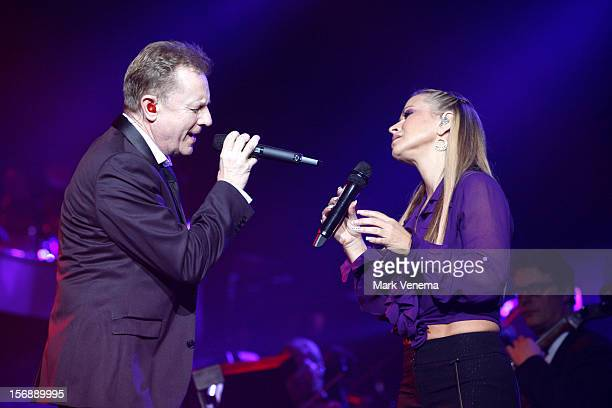 John Miles and Anastacia perform at Night Of The Proms at Ahoy on November 23 2012 in Rotterdam Netherlands
