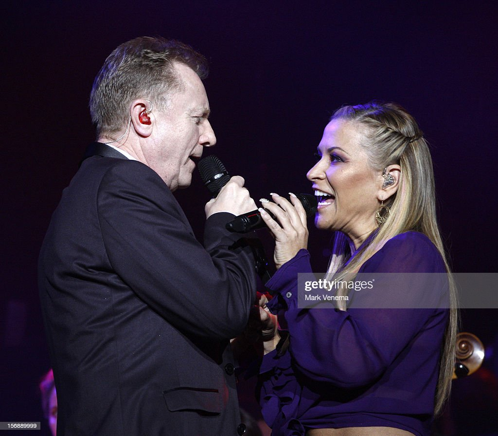 John Miles and Anastacia perform at Night Of The Proms at Ahoy on November 23, 2012 in Rotterdam, Netherlands.