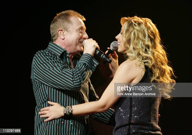 John Miles and Lara Fabian during 2007 Night of the Proms at Nikaia in Nice France