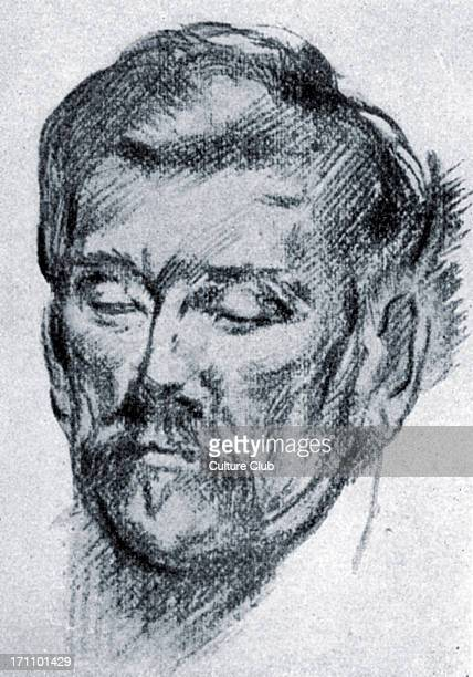 John Millington Synge - portrait of the Irish dramatist, poet, prose writer, and collector of folklore. 16 April 1871 - 24 March 1909