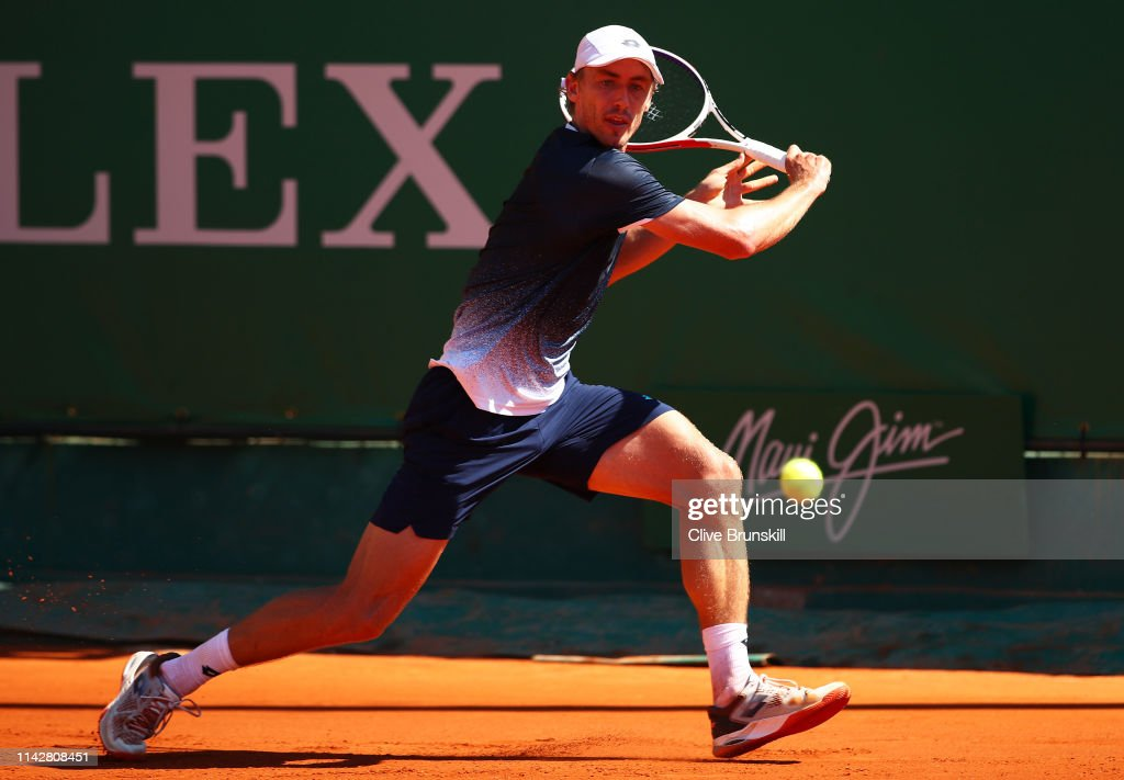 Rolex Monte-Carlo Masters - Day Two : News Photo