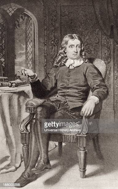 John Milton 1608 To 1674 English Poet Author Polemicist Puritan And Civil Servant After A Photogravure Print By John Faed C1890 From Milton's...