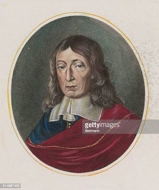 John Milton English poet author of Paradise Lost and Paradise Regained