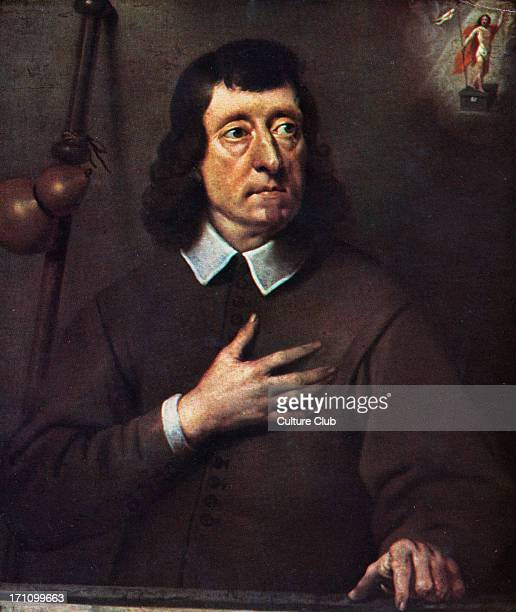 John Milton portrait English poet from original by Pieter Van der Plaas 9 December 1608 8 November 1674 National Portrait Gallery