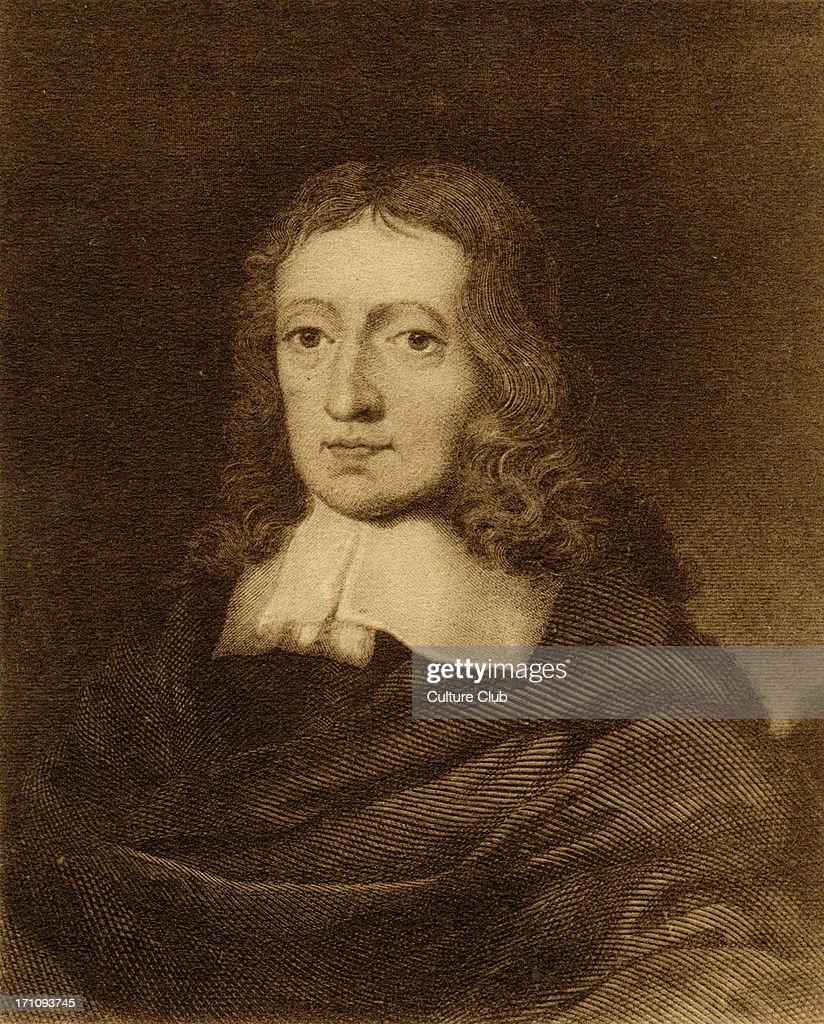 John Milton - portrait of English poet : News Photo