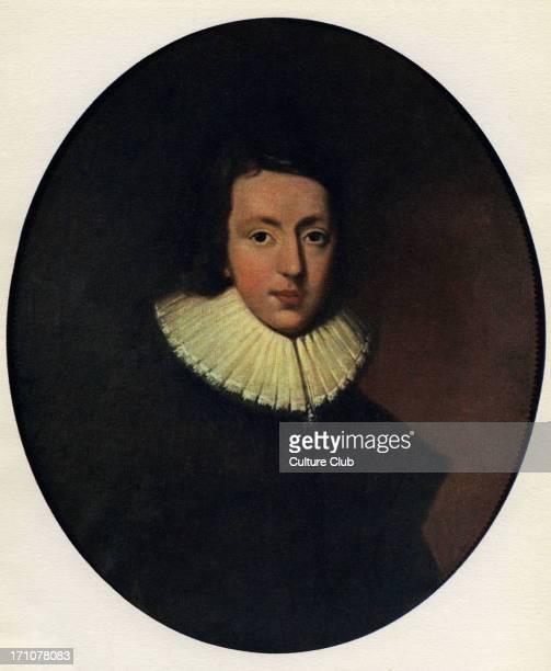 John Milton portrait Portrait by Van der Gucht English poet 9 December 1608 – 8 November 1674