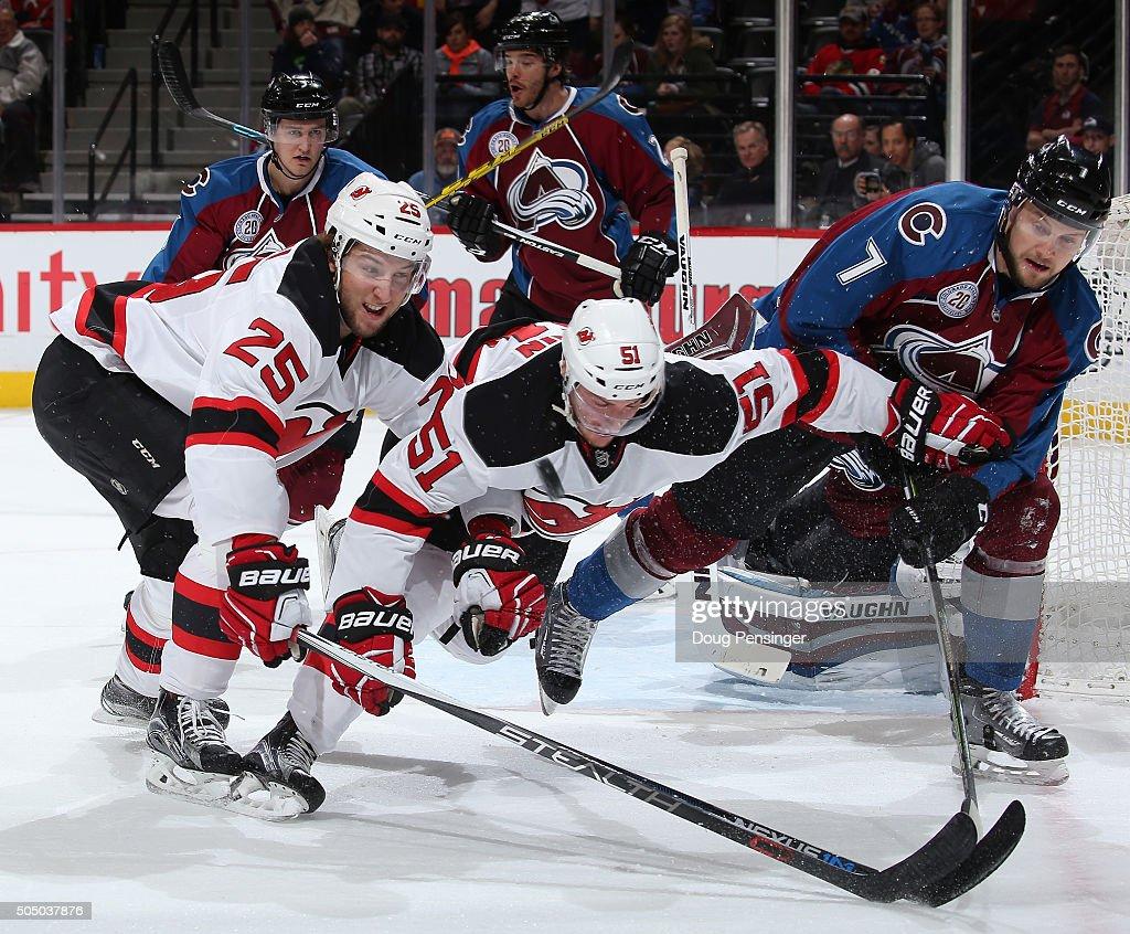 New Jersey Devils v Colorado Avalanche