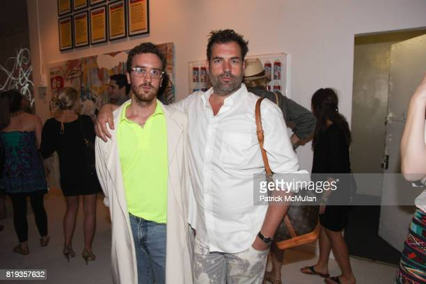John Mollett and Kai Kuhne attend PYT Pretty Young Thing cocurated by Anne Huntington Diana Campbell at 833 Broadway on May 22 2010 in New York City