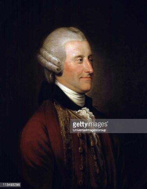 John Montagu 4th Earl of Sandwich' British aristocrat and politician originator of the sandwich Cook named Sandwich Islands after him Johann Zoffany...