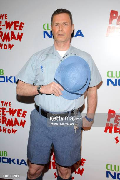 John Moody attends The Pee Wee Herman Show Opening Night at Club Nokia on January 20 2010 in Los Angeles California