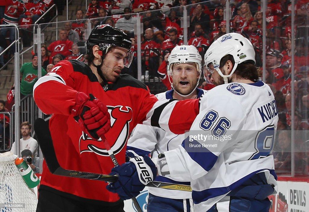 Tampa Bay Lightning v New Jersey Devils - Game Four : News Photo
