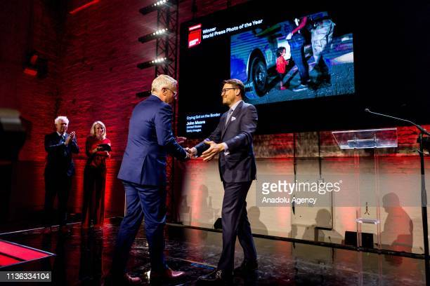 John Moore wins the first place in the World Press Photo 2019 in Amsterdam Netherlands on April 11 2019