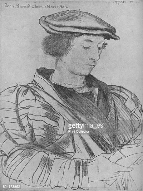 John More the Younger', 1526-1527 . John More , the son of Sir Thomas More. The drawing is part of the Royal Collection Trust, Windsor Castle. From...