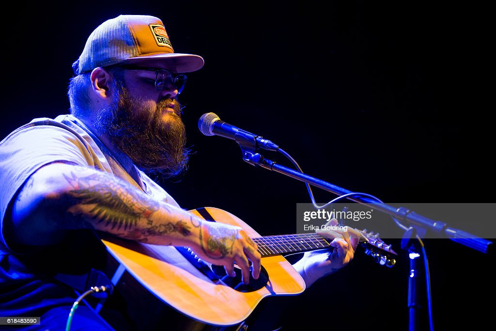 John Moreland performs at The Joy Theater on October 23, 2016 in New Orleans, Louisiana.