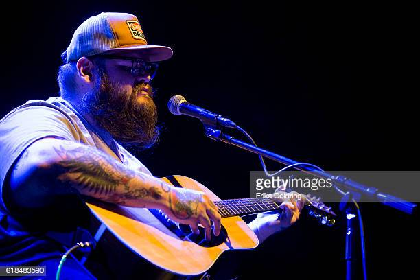 John Moreland performs at The Joy Theater on October 23 2016 in New Orleans Louisiana