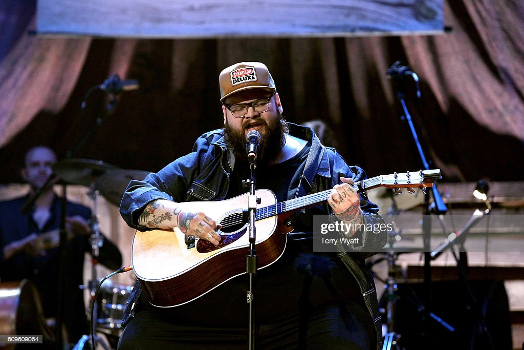 John Moreland performs onstage at the Americana Honors & Awards 2016 at Ryman Auditorium on September 21, 2016 in Nashville, Tennessee. at Ryman Auditorium on September 21, 2016 in Nashville, Tennessee.