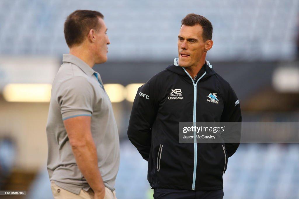 AUS: NRL Trial: Sea Eagles v Sharks