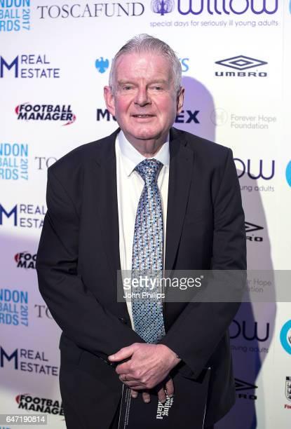 John Motson attends the London Football Awards on March 2 2017 in London United Kingdom