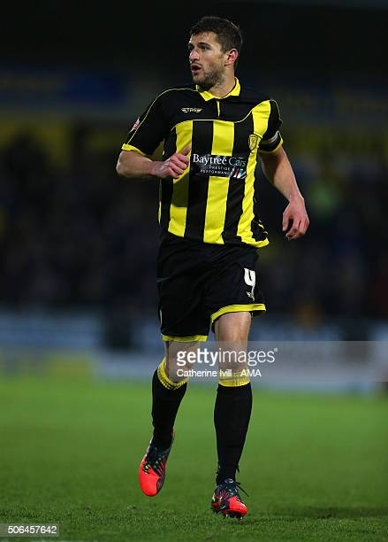 John Mousinho of Burton Albion during the Sky Bet League One match between Burton Albion and Shrewsbury Town at Pirelli Stadium on January 23 2016 in...