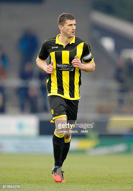 John Mousinho of Burton Albion during the Sky Bet League One match between Burton Albion and Oldham Athletic at Pirelli Stadium on March 26 2016 in...