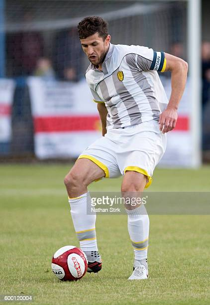 John Mousinho of Burton Albion in action during the PreSeason Friendly match between Leek Town and Burton Albion on July 13 2016 in Leek England
