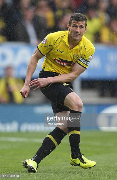 APRIL 25 APRIL 25 APRIL 25 APRIL 25 John Mousinho of Burton Albion in action during the Sky Bet League Two match between Burton Albion and...