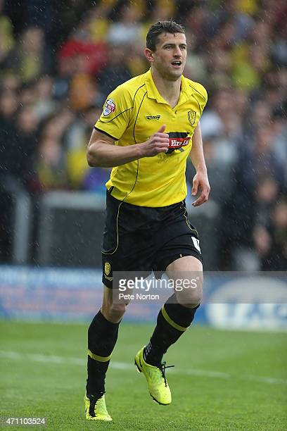 APRIL 25 John Mousinho of Burton Albion in action during the Sky Bet League Two match between Burton Albion and Northampton Town at Pirelli Stadium...