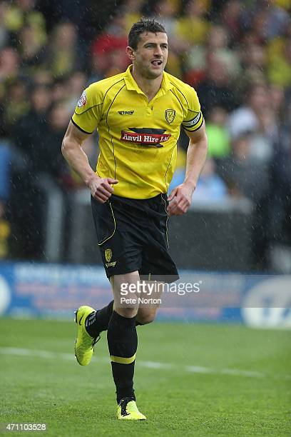 APRIL 25 APRIL 25 APRIL 25 John Mousinho of Burton Albion in action during the Sky Bet League Two match between Burton Albion and Northampton Town at...