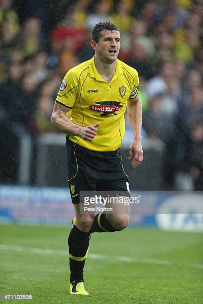 APRIL 25 APRIL 25 John Mousinho of Burton Albion in action during the Sky Bet League Two match between Burton Albion and Northampton Town at Pirelli...
