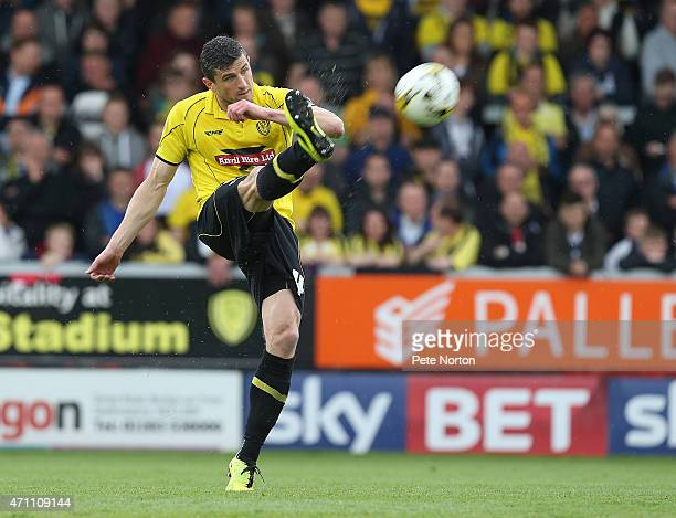 John Mousinho of Burton Albion in action during the Sky Bet League Two match between Burton Albion and Northampton Town at Pirelli Stadium on April...