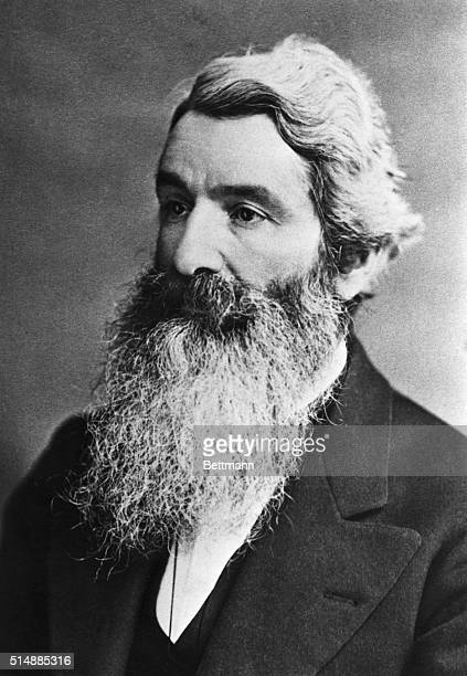 John Muir American naturalist instrumentalist in establishing Yosemite Park