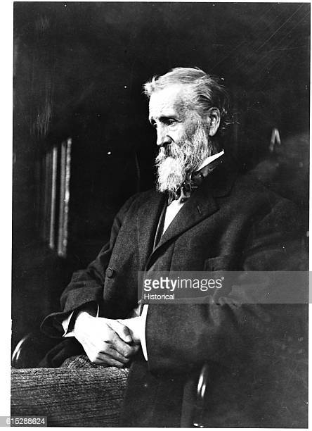 John Muir an American naturalist influential in establishing national parks and forests in the US