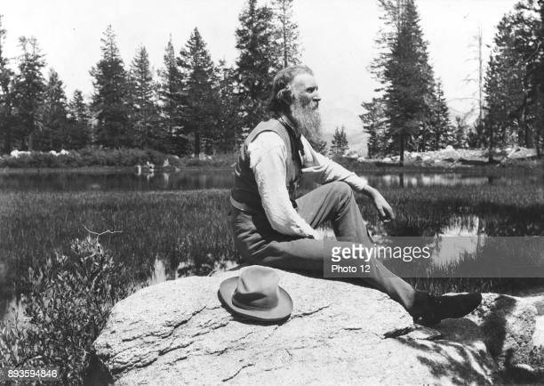 John Muir Scottishborn American naturalist engineer writer and pioneer of conservation Campaigned for preservation of US wilderness including...