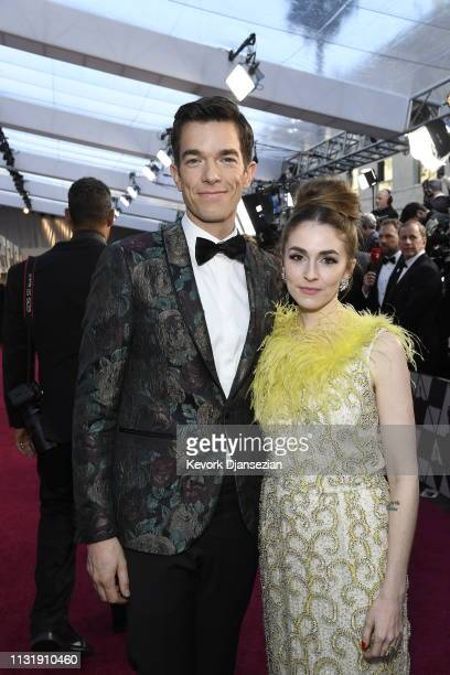 John Mulaney and Annamarie Tendler attend the 91st Annual Academy Awards at Hollywood and Highland on February 24 2019 in Hollywood California